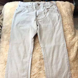 Gap 1969 skinny grayish jeans